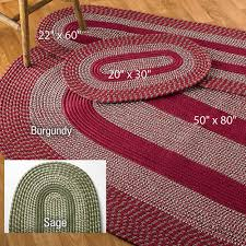braided rug 3 braided rug set gallery