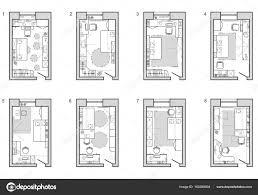 plan chambre enfant plan de meubles de chambre d enfant plan d étage symbole comme