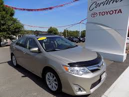 toyota in used 2013 toyota camry xle in edmundston used inventory