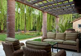 pictures of pergolas patio traditional with cobblestone patio