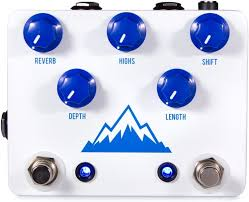 jhs delay jhs panther cub analog tap tempo delay pedal sweetwater