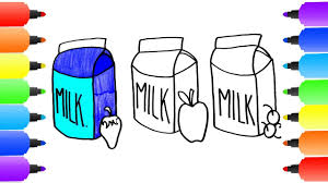 milk coloring pages coloring pages milk bottle how to draw milk bottle learn