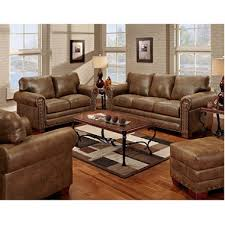 livingroom set buckskin nailhead living room set 4 pc sam s club