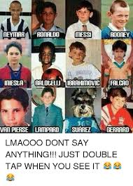 Funny Messi Memes - neymar ronaldo messi rooney iniesta balotelli mibrahimovic