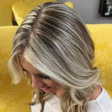 hair platinum highlights 40 ideas of gray and silver highlights on brown hair