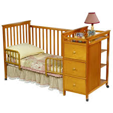 Simplicity Convertible Crib Cribs With Attached Changing Table Dresser Simplicity Nursery In A