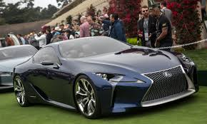 lexus lf lc play station 2016 pebble beach concours concept cars autonxt