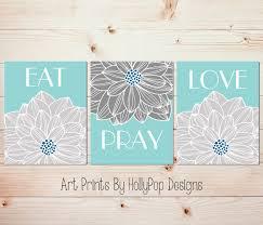dining room wall art christian decor eat pray love art prints