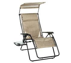 Bliss Zero Gravity Lounge Chair Westfield Xl Gravity Free Recliner With Canopy U0026 Padded Lumbar