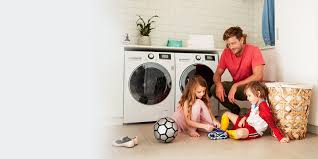 front load washing machines for faster cleaner washes lg australia