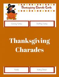 thanksgiving charades the joys of boys