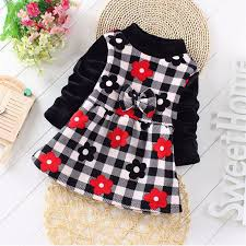 wholesale 2015 autumn winter newborn infant baby clothes dress for