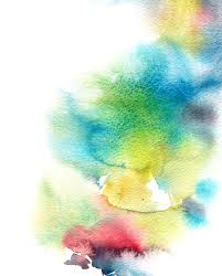 abstract watercolor wash color wash background stock illustration