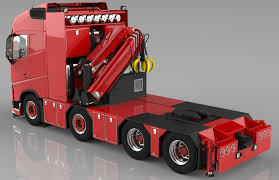 volvo truck 2011 models 3d volvo fh 8x4 model cgtrader