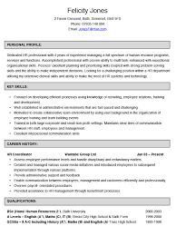 Hr Coordinator Sample Resume by Services Coordinator Resume
