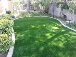 Synthetic Grass Backyard Artificial Grass Installation South Taft California Design Ideas