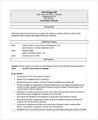 Recruiter Resume Samples by Sample Recruiting Manager Resume Template 6 Free Documents