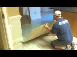 how to remove a vinyl floor luan