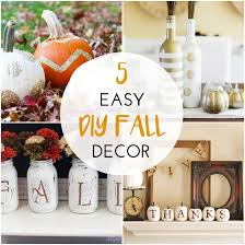 Fall Decorating Projects - easy to make fall decorations home design