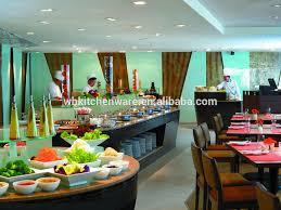 new design hotel buffet server warmer ceramic pan inserted in
