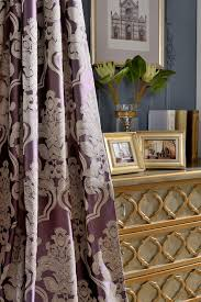 Lavender Blackout Curtains by Modern Fabric Blackout Curtains For Living Room Luxury Jacquard