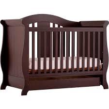 storkcraft vittoria fixed side convertible crib cribs baby
