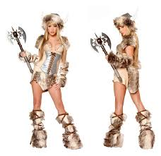Valkyrie Halloween Costume Newest Deluxe Viking Costume Women Cosplay Halloween