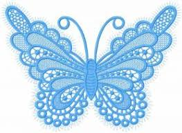 butterfly lace free embroidery design machine embroidery design