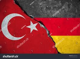German War Flag Germany Vs Turkey Red Turkey Flag Stock Photo 604562753 Shutterstock