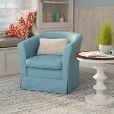 Swivel Arm Chairs Living Room Swivel Chairs You Ll Wayfair