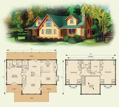 log cabin with loft floor plans charlottesville log home and log cabin floor plan by darcy small