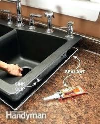 Kitchen Sink Install Replace Kitchen Sink Bloomingcactus Me