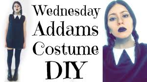 wednesday addams halloween costume wednesday addams halloween diy spanish sub youtube