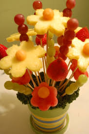 fruit flower bouquets edible fruit arrangements you can even create an edible flower