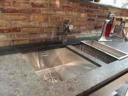 snaidero kitchen featuring a blanco steelart sink isalone salonestylesearch blancoamerica