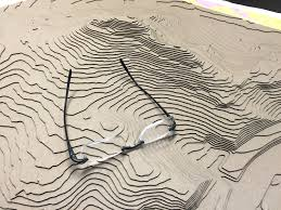 San Francisco Elevation Map Neighbor Builds Stunning 3d Topographical Map Of Bernal Heights
