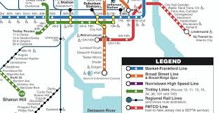 septa map philadelphia s transit map managed by septa includes patco