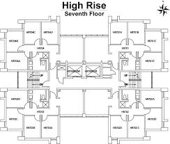 high rise apartment floor plans high rise