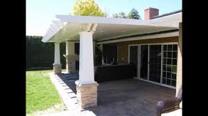 building a covered porch patio cover designs huntington beach california project youtube
