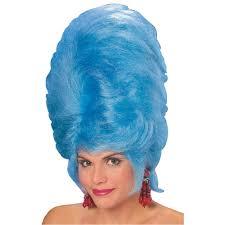 Marge Simpson Halloween Costume Retro 60 U0027s Big Hair Beehive Wig Blue Marge Simpson Ebay