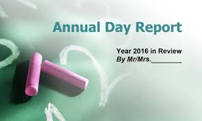 annual report ppt template annual day report powerpoint ppt template for school and colleges