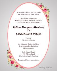 wedding invitation wordings marriage invitation model christian wedding invitation wording