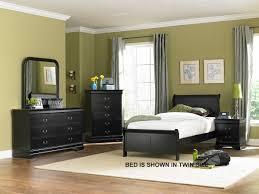 homelegance marianne bedroom set black b539bk