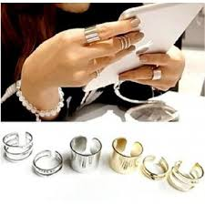 top knuckle rings images New 3pcs set fashion top of finger over the midi tip finger above jpg