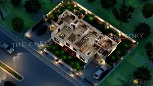 3d villa floor plan arch student com