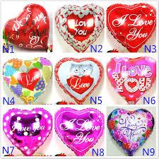 valentines day balloons wholesale wholesale 100pcs lot mix theme foil balloons mylar ballons