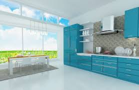 Home Interior Kitchen Design Magnificent 30 Blue Kitchen Design Decorating Inspiration Of 26