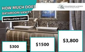 how much does it cost to install a flat pack kitchen bathroom vanity installation cost 2020 average prices
