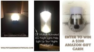 ge led night light ge motion activated led night lights help light up your nights