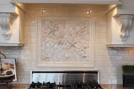 mural tiles for kitchen backsplash impressive tile murals for kitchen backsplash mediterranean 21017
